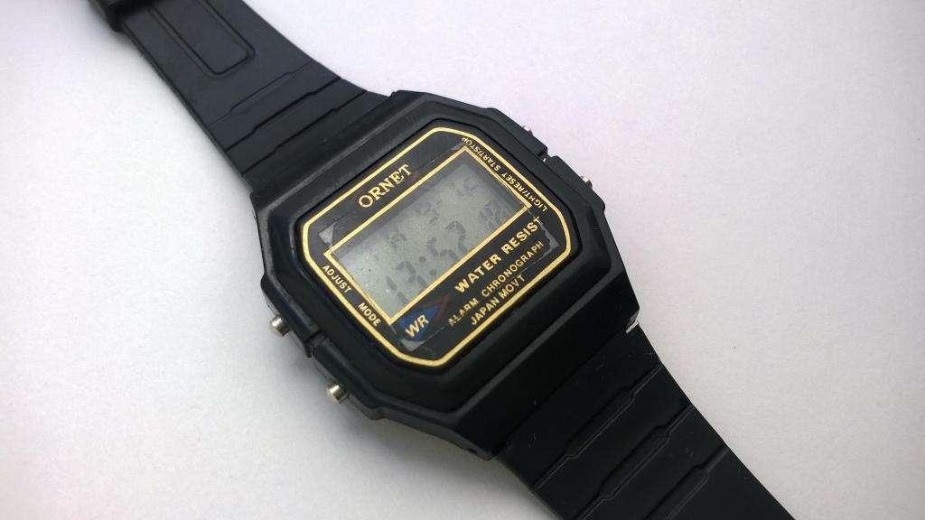 nuevo producto f4d12 2ef3a Reloj Ornet Digital Deportivo Cronógrafo Alarma Luz - Santa Fe