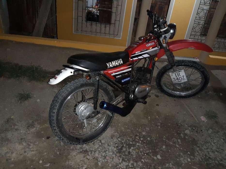 Yamaha Trail 125 Modificada Una Bala