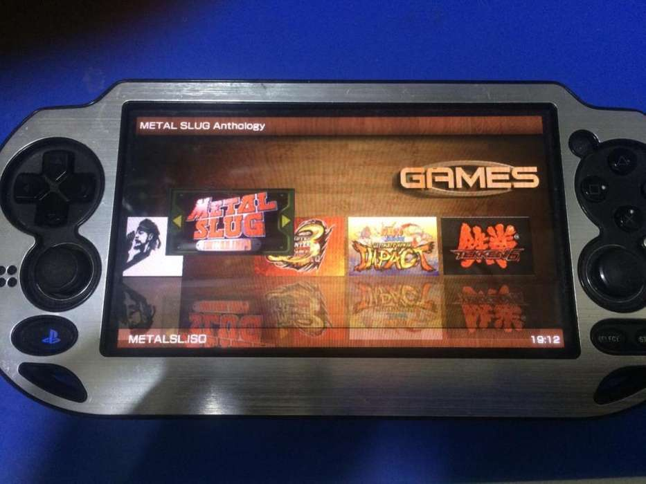 Ps Vita Memoria 8gb con Juegos Psp Vita