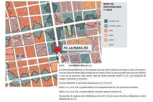 CORREDOR ALTO - LOTE 8.66 x 59,00 M2.APROX.