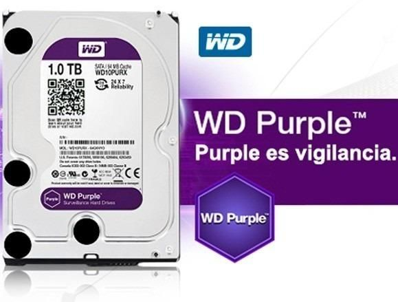 Disco Duro Purpura Wester Digital 1 Tb