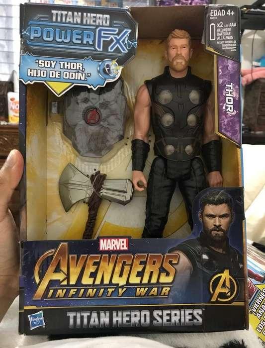 Thor Avengers Infinity War HASBRO NUEVO SELLADO