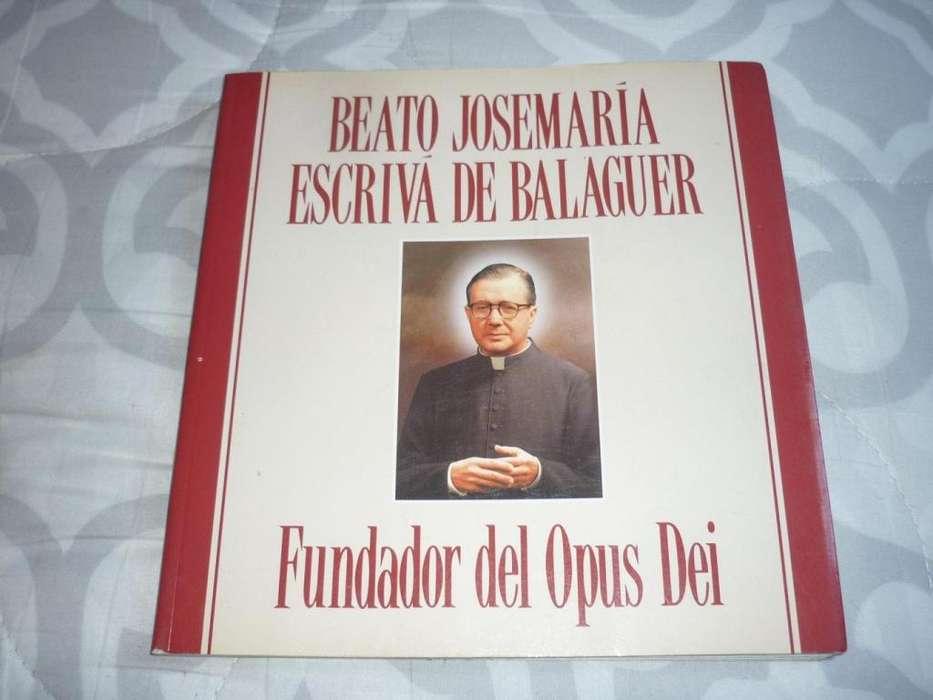 BEATO JOSEMARIA ESCRIVA DE BALAGUER . FUNDADOR DEL OPUS DEI . LIBRO 1992