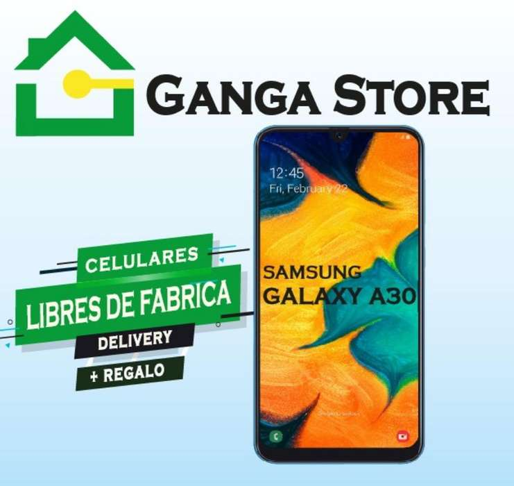 Samsung Galaxy A30 Nuevo Tienda Garantia