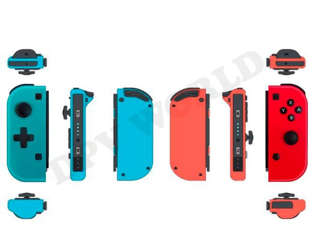 Kit 2 en 1 Repuestos Joycons Controles para Nintendo Switch