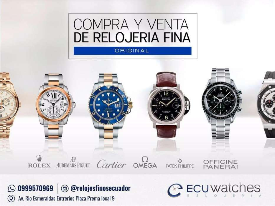COMPRA VENTA de Relojeria fina ORIGINALES: Rolex, Cartier, AP, omega, Patek Philippe etc