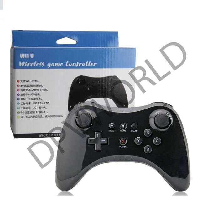 Control Inalambrico Nintendo Pro Wii U Color Negro