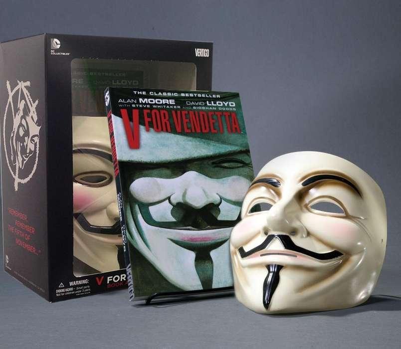 V For Vendetta Comicmascara Importada