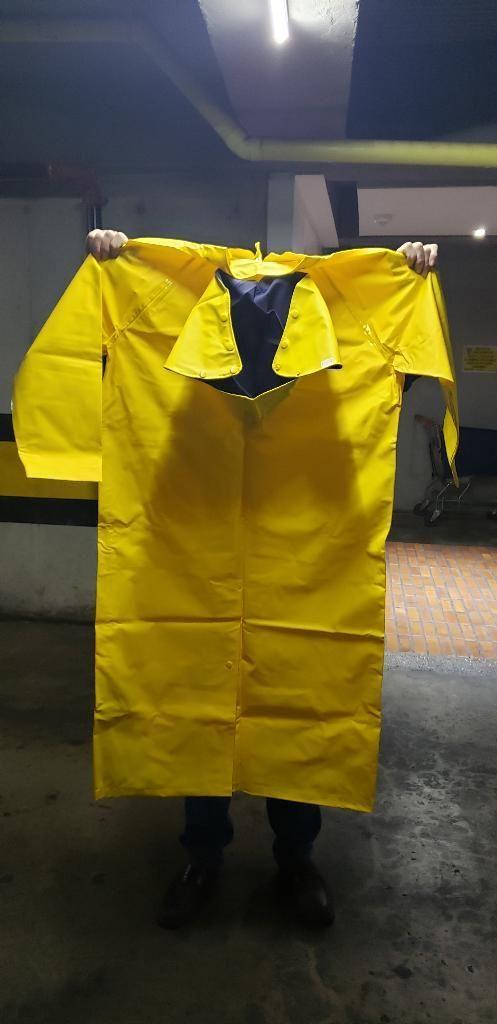 Chaqueta Impermeable Amarillo Talla L