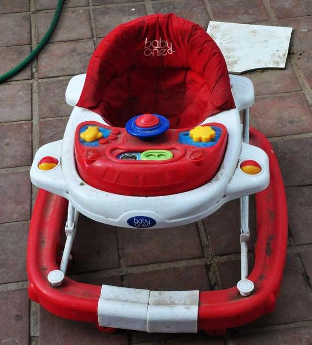 ANDADOR BABY ONE ROJO