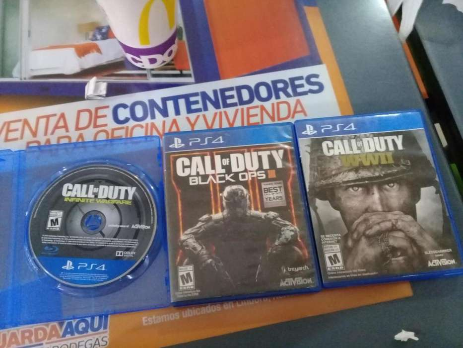 Venta de tres call of duty