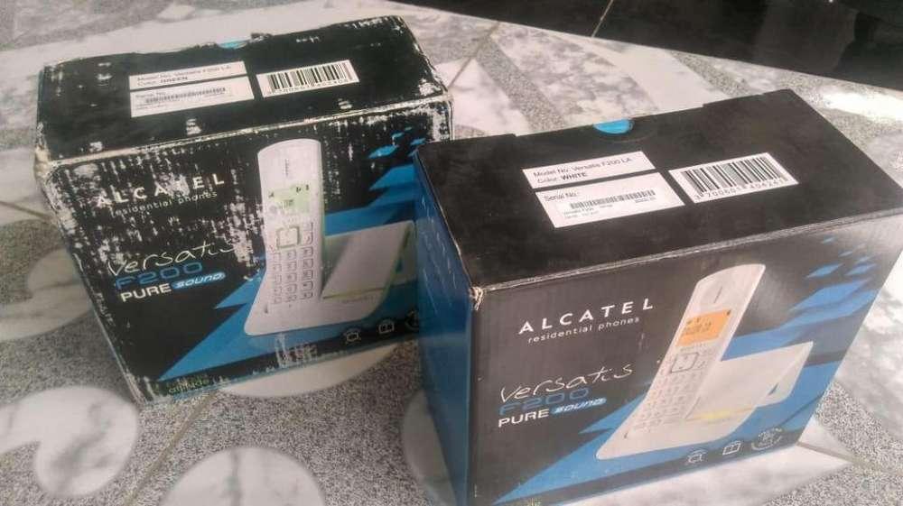 Telefono Inalambrico Alcatel Vesatis F200 Buen Estado