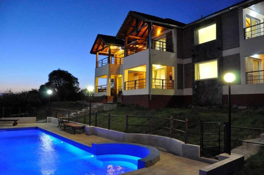 nw49 - Apart para 2 a 3 personas con pileta y cochera en Villa De Merlo