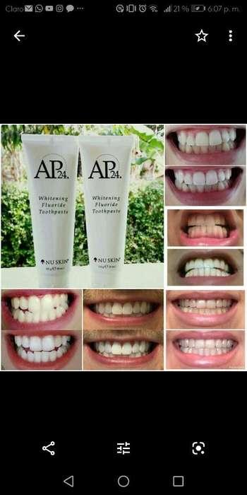 Crema Dental Blanqueadora Ap24