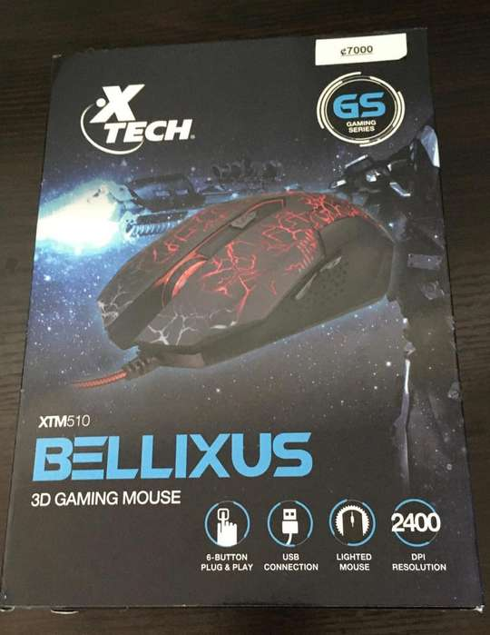 Mouse Xtech Gaming.