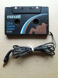 Adaptador de Toca Cassette para Carros