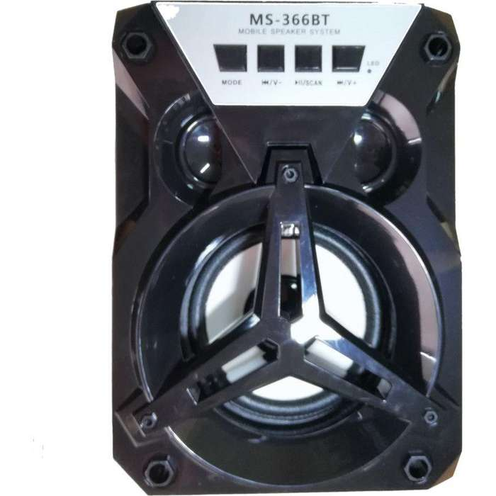 Parlante estéreo portátil Bluetooth inalámbrico con USB TF AUX Radio FM