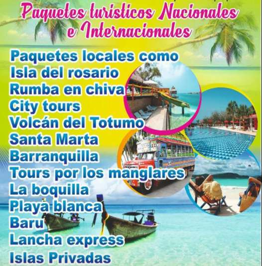 Tours Islas del Rosario Playa Blanca Baru
