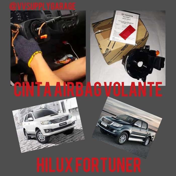 Cinta Airbag Toyota Hilux Fortuner