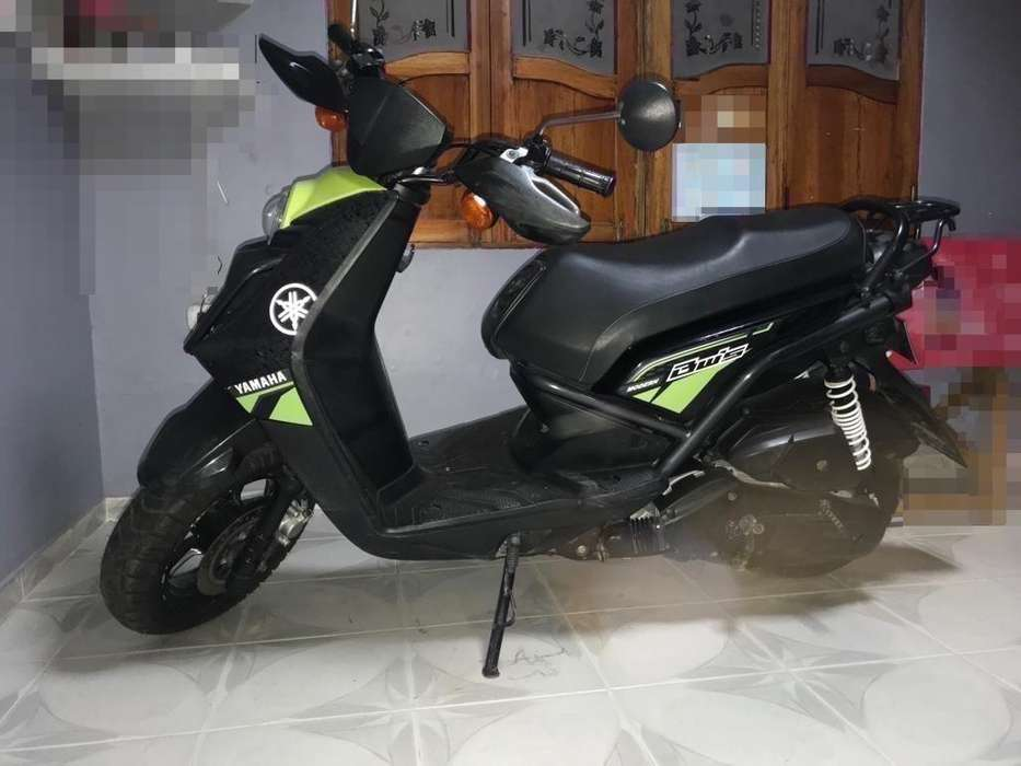<strong>yamaha</strong> YW125 Modelo 2018 Color Negro-Verde