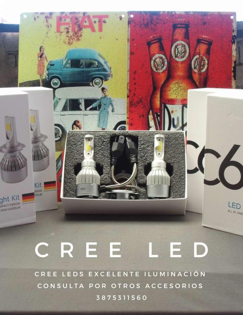 CREE LEDS EXCELENTE ILUMINACION