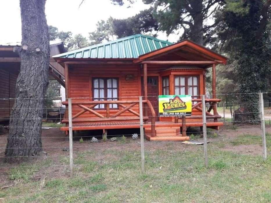 cm59 - Cabaña para 2 a 5 personas con cochera en Necochea
