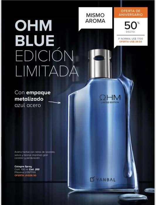 Perfume Ohm Hombre Yanbal