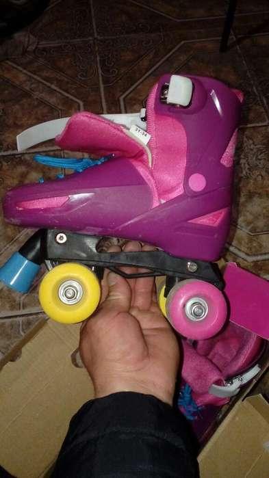 Patines Roller Una Vez de Us Talle 31a34