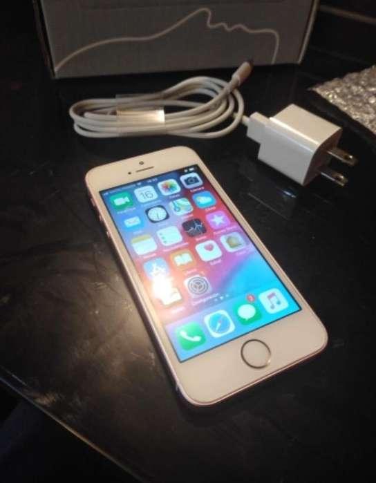 iPhone Se 16Gb Gold Rose Camara 12Mp
