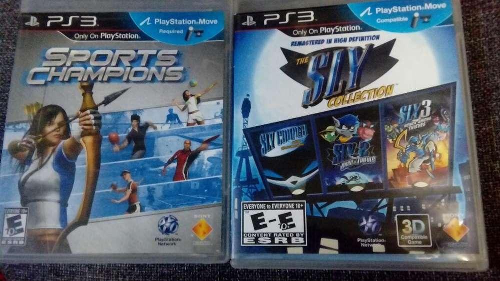 2 Juegos Ps3 Originales