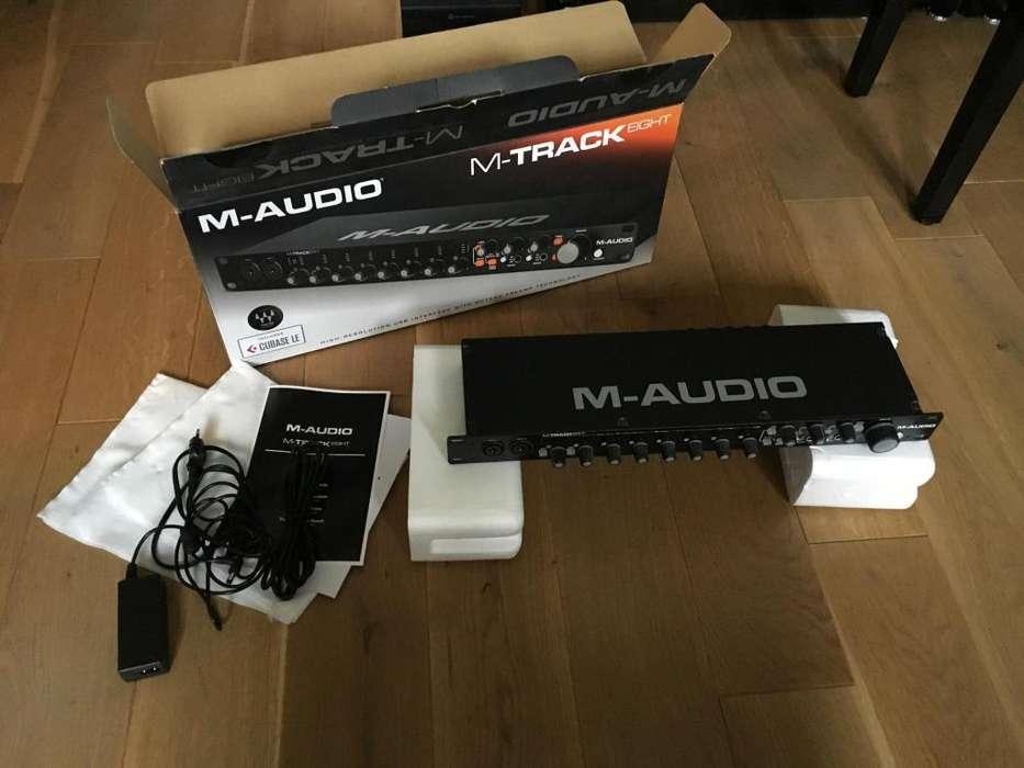 MTrack Eight Interface de Audio