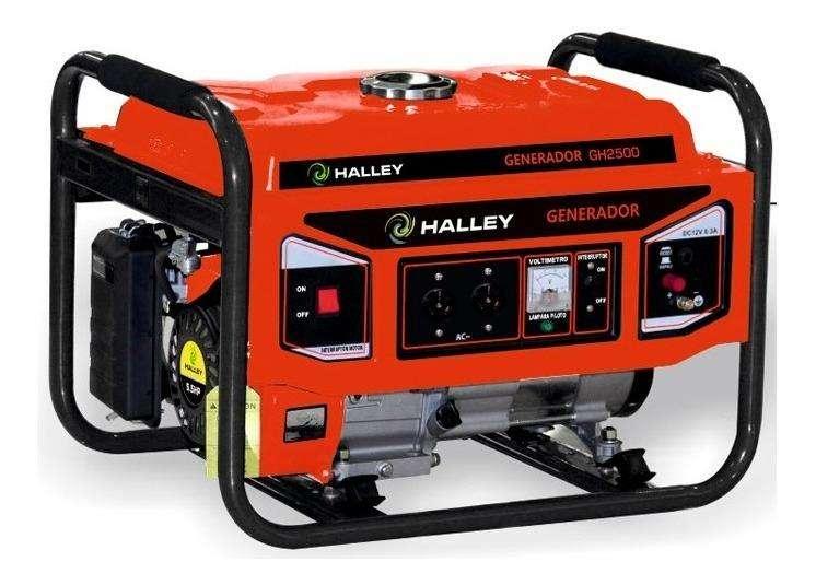 Grupo Electrogeno Generador 3000w A/m Monofasico 7hp Halley