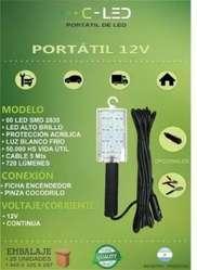 Luz Portátil 60 Led