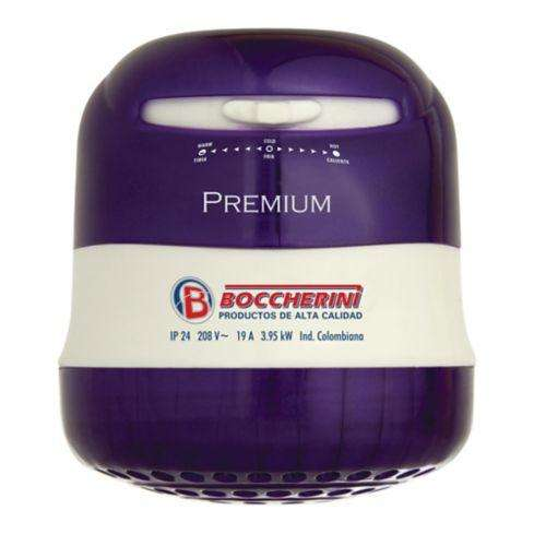 Ducha premium Boccherini sin manguera bicolor 110 v NUEVO