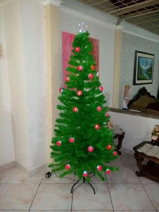 Arbol de Navidad en Fibra Optica con Ado