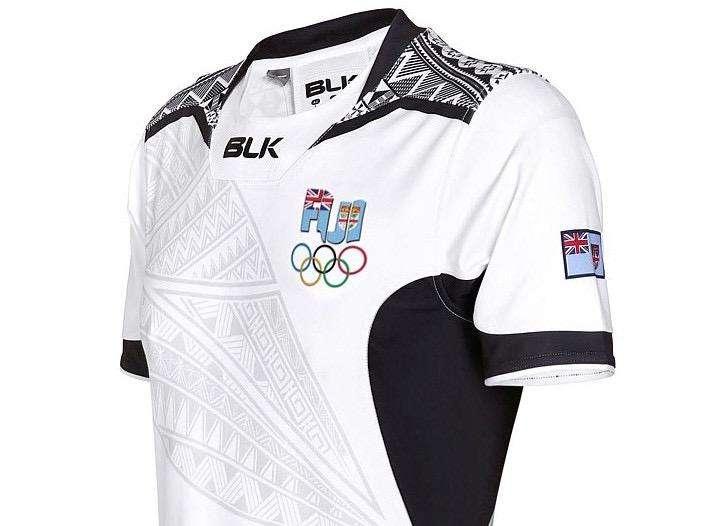Camiseta Rugby Fiji Sevens Rio 2016