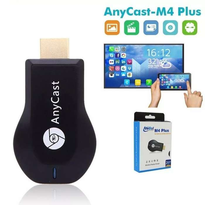 Anycast M4 Plus Smart Tv Wifi Inalambrico Hd 1080p