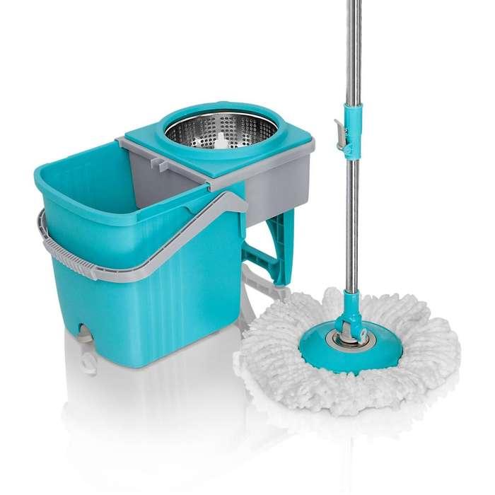 Trapero giratorio 360 Stainless mop Energy Plus Incluye 2 mopas