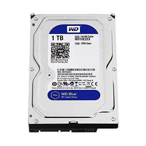 Disco duro WD Blue 1 TB SATA 6 Gb / s 7200 RPM 64 MB de caché