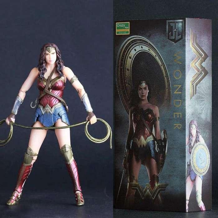 Figura Wonder Woman Crazy Toys
