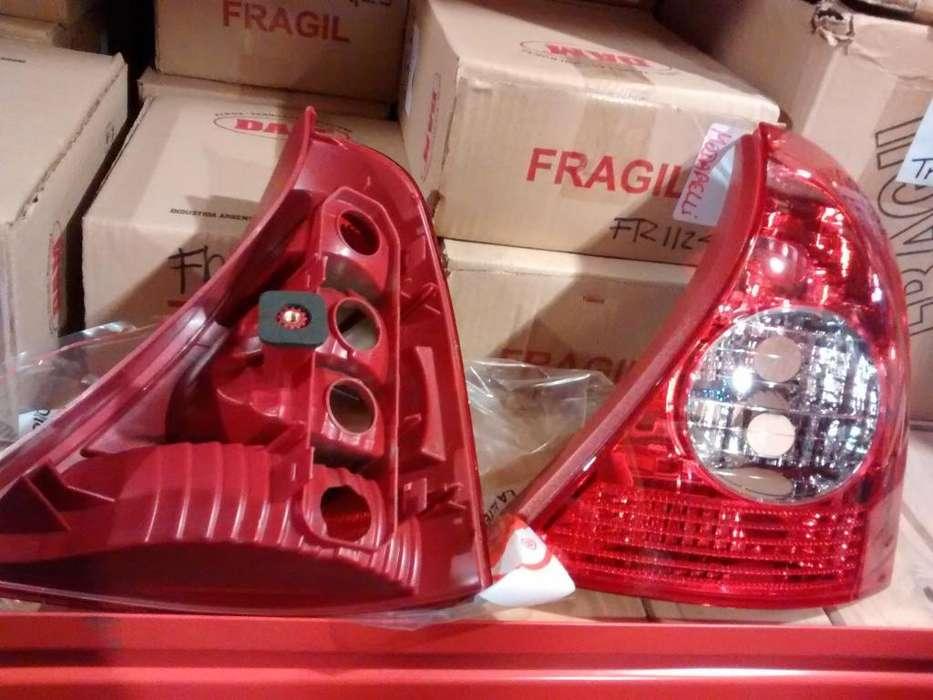 FAROS TRASEROS RENAULT CLIO 2 2002 EN ADELANTE