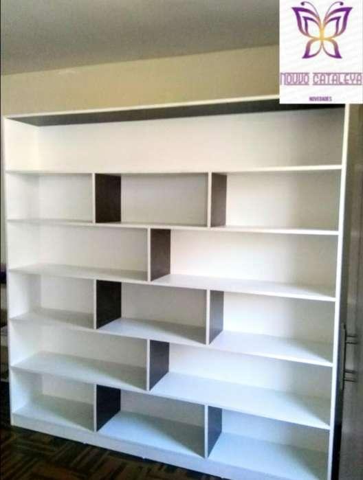 Estante Librero Aparador Mostrador Nuevo