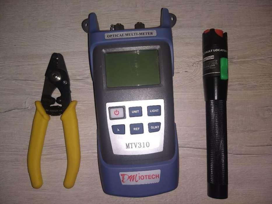 Power Meter, para Fibras Ópticas (gpon)