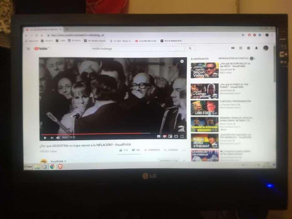 <strong>televisor</strong> Monitor Lg 21 Pulgadas Full Hd Led