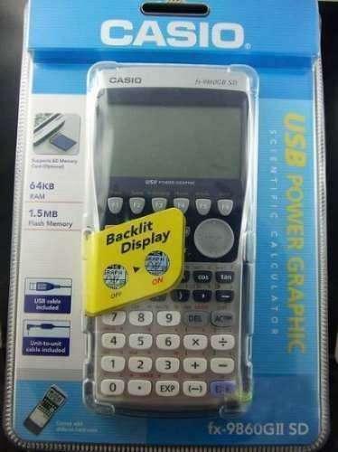 <strong>calculadora</strong> casio fx 9860gII