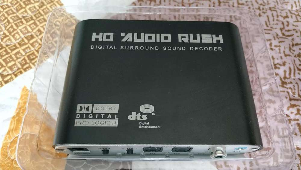 Decodificador de sonido a Audio 5.1 HD Audio Rush 5.1