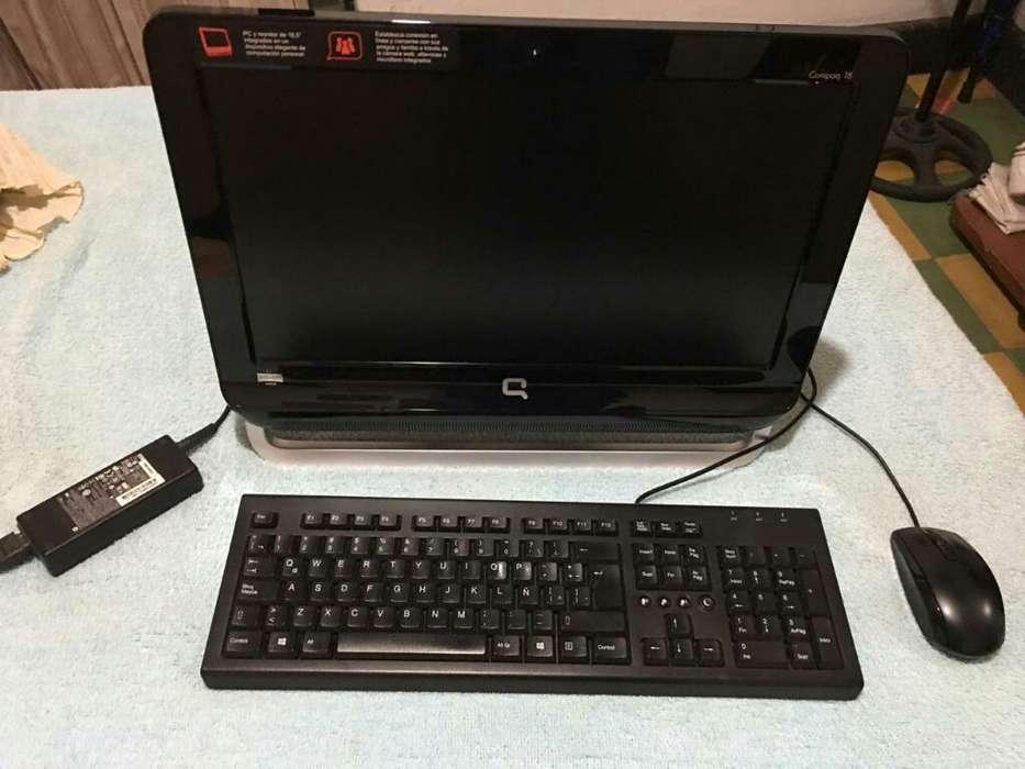 Computador Hp Compaq 18 Todo en Uno