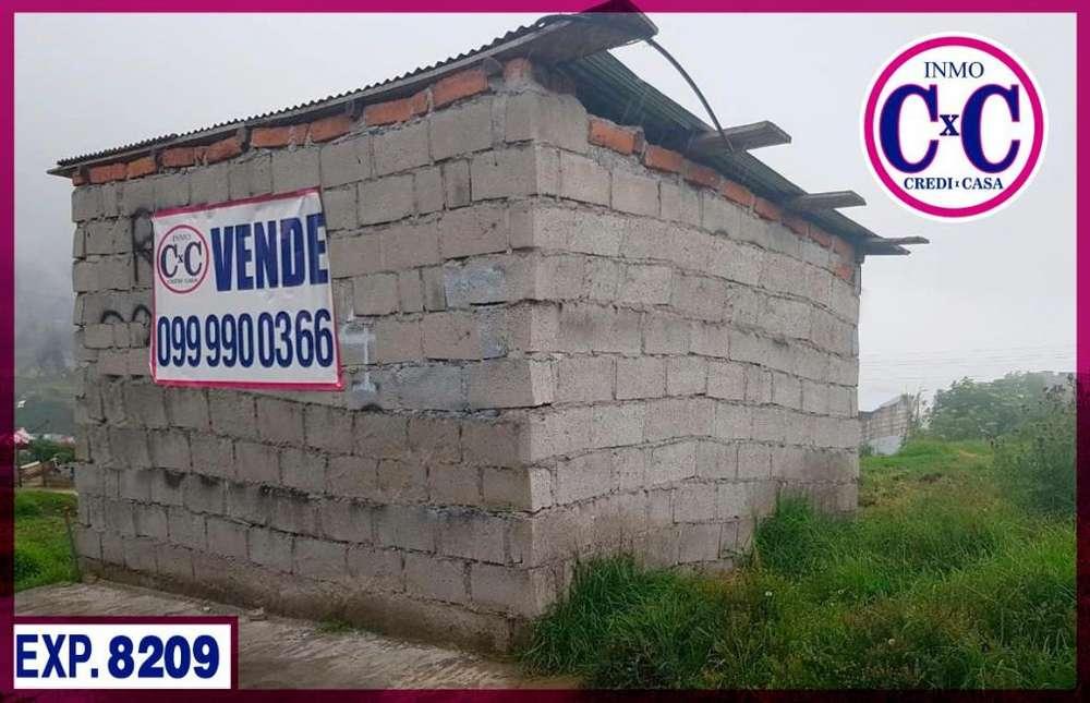 CXC VENTA DE TERRENO 1/2 AGUA / CAMAL METROPOLITANO / SUR DE QUITO / EXP.8209