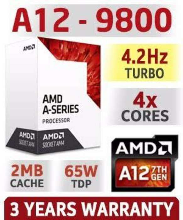 Procesador Amd A12 9800 3.8ghz