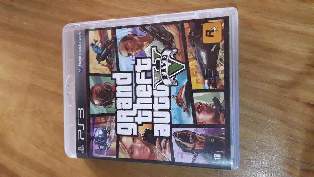 Vendo Gta 5 para Playstation 3